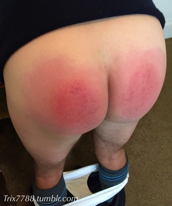 ASB white pants down red bottom high