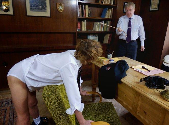 bent over instruction