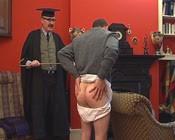Headmaster pants down